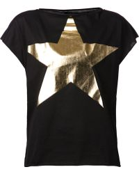Vivienne Westwood Anglomania Star T-Shirt - Lyst