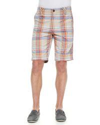 Robert Graham Anacapri Plaid Shorts  - Lyst