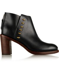 Rag & Bone Ayle Leather Ankle Boots - Lyst