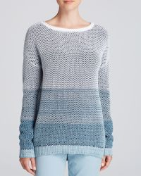 Vince Sweater - Ombré Stitch Drop Shoulder - Lyst