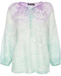 Antik Batik Blusa in Cotone Amalia - Lyst