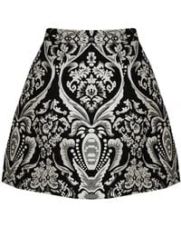 alice + olivia Loran Lantern Skirt With Pocket black - Lyst
