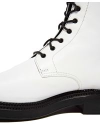 Yang Li - Archive - Leather Lace Up Boots - Lyst