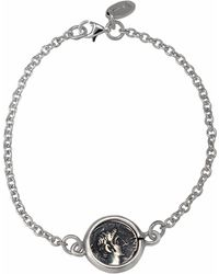1884 Collection - Legacy Silver Ottaviano Coin Station Bracelet - Lyst