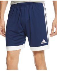 Adidas Tastigo 15 Climacool Performance Shorts blue - Lyst