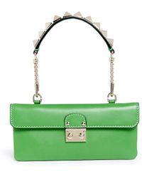 Valentino 'Rockstud Lock' Mini Leather Bag - Lyst