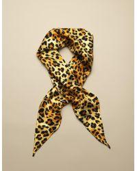 Agent Provocateur - W.i.l.d Headscarf Leopard Print - Lyst