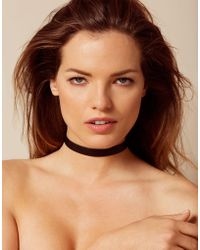 Agent Provocateur - Veronika Leather Single Choker - Lyst