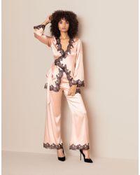 Agent Provocateur Amelea Pyjama Top - Pink