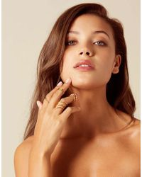 Agent Provocateur - Sheba Rings Gold - Lyst