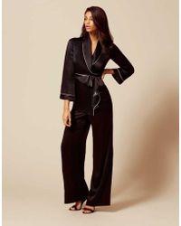 Agent Provocateur - Classic Pyjama Bottom Black - Lyst