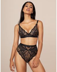 4c18604d15 Agent Provocateur - Carmella Big Brief Black - Lyst