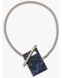 agnès b. Natural Stone Clara Bracelet - Metallic