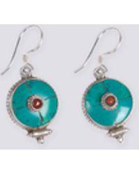 agnès b. - Silver And Semi-precious Stones Sunita Earrings - Lyst