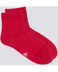 agnès b. - Red Alia Socks - Lyst