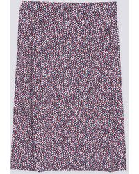 Agnes B. | Phil Skirt Multicolored Blue Background | Lyst