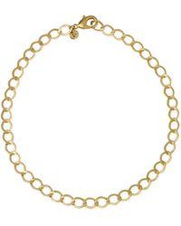 agnès b. - Gold Brass Zofia Necklace - Lyst