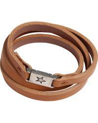 Agnes B. | Brown Bracelet Star | Lyst