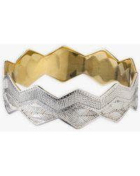 agnès b. Agnès B. And Ombre Claire Assia Silver Bracelet - Metallic