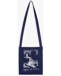 agnès b. - Blue Soleil Tote Bag - Lyst