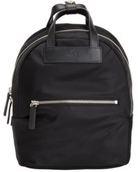 agnès b. - Black Small Nylon Canvas Backpack - Lyst