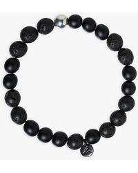 agnès b. Lava Beads Volca Bracelet - Black