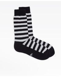 agnès b. Black Striped Socks