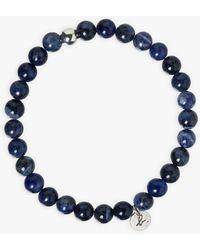 agnès b. Sodalite Bracelet - Blue
