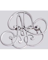 agnès b. - Silver Ab Brooch - Lyst