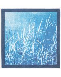 agnès b. Tim Barber Artist Bandana - Blue