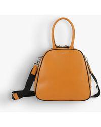 agnès b. - Caramel Leather Suzy Small Handbag - Lyst