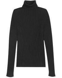 agnès b. - Black Cotton Stone Pullover - Lyst