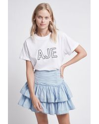 Aje. Aria Skirt - Blue