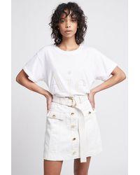 Aje. Adelaide Skirt - White