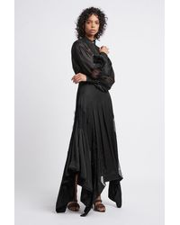 Aje. Veil Skirt - Black