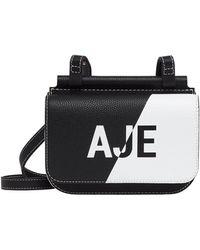 Aje. Chance Logo Crossbody Bag - Black