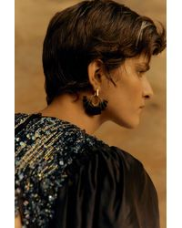 Aje. Heritage Sculptural Earring - Multicolour