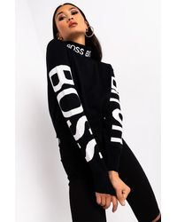 AKIRA Bo$$ Bitch Sweater - Black