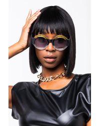 AKIRA Gradient Yellow Sunglasses