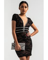 AKIRA - More And More Lace Dress - Lyst