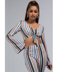 AKIRA - One You've Been Looking For Crop Top - Lyst