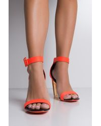 Cape Robbin - Poppin Perplex Wedge Sandals - Lyst