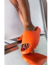 AKIRA My Type Flat Sandal - Orange
