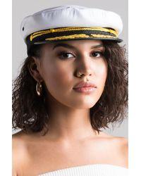 AKIRA - Sea It All Captain's Hat - Lyst