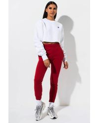 Champion Reverse Weave Pigment Dyed JOGGER - Red