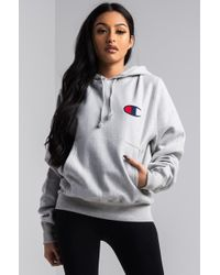 Champion - Reverse Weave Pullover Hoodie - Lyst
