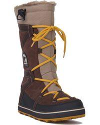 AKIRA Sorel Women's Glacy Explorer Waterproof Boots - Multicolour