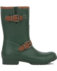 AKIRA Sperry Walker Fog Rain Boots - Green