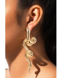 AKIRA - Reputation Snake Earring - Lyst