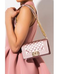 AKIRA So Ladylike Small Quilted Rubber Purse - Pink
